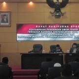 DPRD Kota Blitar Gelar Paripurna Pandangan Umum Fraksi Terhadap Ranperda APBD 2020