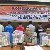 Polisi Ciduk Pelaku Money Politic dalam Pilkades Serentak Kabupaten Kediri