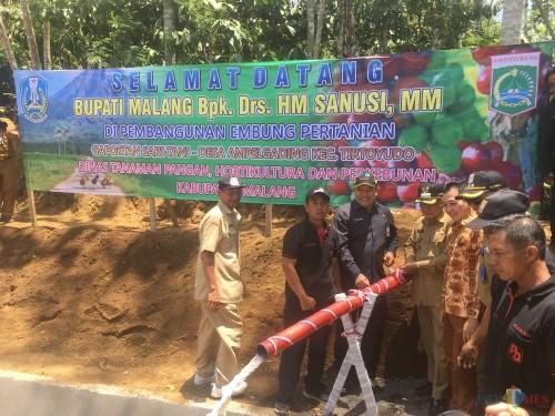 Penuhi Pasokan Air Warga, Kabupaten Malang Bangun 40 Embung