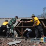 Ini Jumlah Kebutuhan Rekontruksi Akibat Bencana Angin Kencang di Kota Batu