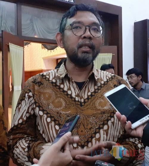 Direktur Pendidikan dan Pelayanan Masyarakat KPK, Giri Suprapdiono (Arifina Cahyanti Firdausi/MalangTIMES)