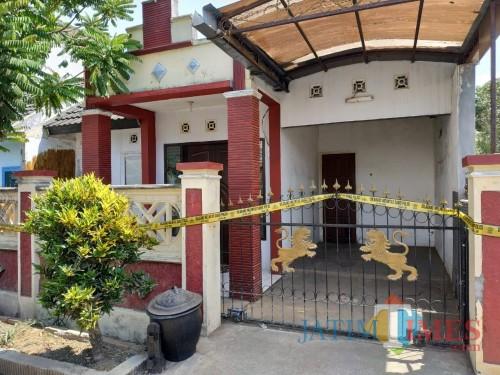 Rumah tempat kejadian anak 3 tahun meninggal. (Hendra Saputra)