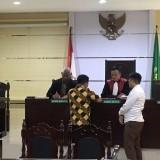 Jaksa Paksa Tersangka Korupsi TKD Bulusari Teken Relaas Sidang