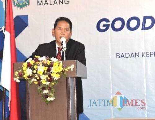 Sekda Kabupaten Malang Didik Budi Muljono terus dorong terwujudnya pemerintahan bersih dan baik. (dok MalangTimes)