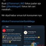 Gegara Lem Aibon, Transmart dan Bank Mega Digeruduk Warganet