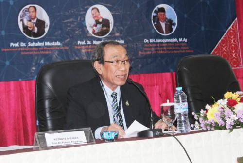 Director Halal Standard Institute of Thailand, Prof Dr Pakorn Priyakorn. (Foto: Humas)