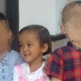 Di Kamar Jenazah RS Saiful Anwar,  Balita Korban Penganiayaan Ayah Tiri Terlihat Terus Tersenyum