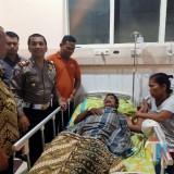 Kapolres Pastikan Hoax Pasien Meninggal di Ambulans yang Distop Polisi