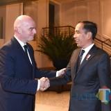 Silang Pendapat Pemprov Jatim dan Pemkot Surabaya soal Venue Piala Dunia U-20, Jokowi Bertemu Presiden FIFA