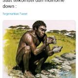 Jaringan Telkomsel dan Indihome Sempat Down, Kreativitas Warganet Bikin Ngakak