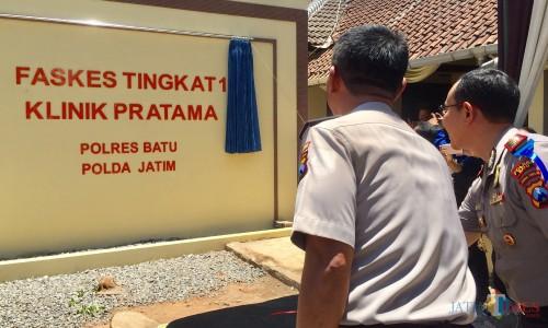 Di Kota Batu, Masyarakat Bisa Datang Berobat ke Kantor Polisi