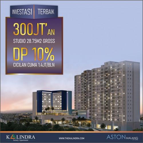 Harga Terjangkau, Investor Borong Unit Apartemen Kalindra Hard Cash