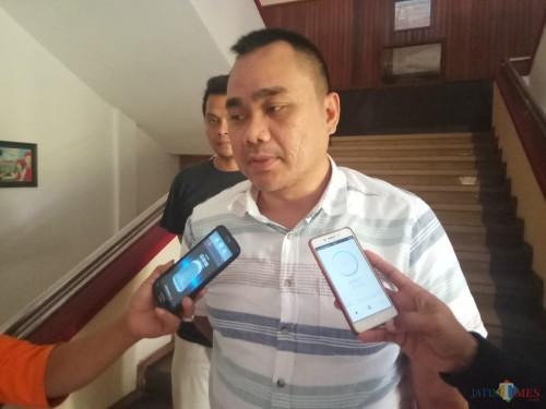 Kasi Pidsus Kejari Kota Malang, Ujang Supriyadi (Anggara Sudiongko/MalangTIMES)