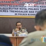 Bentuk Opini dan  Intelegence Media Management, Kabid Humas Polda Jatim Road Show ke Polresta Kediri