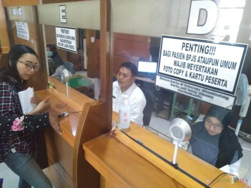 Situasi pelayanan di RSUD Jombang. (Foto : Adi Rosul / JombangTIMES)