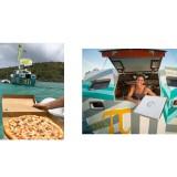 Mau Merasakan Sensasi Makan Pizza di Tengah Lautan? Kamu Bisa Mencobanya di Atas Kapal Ini