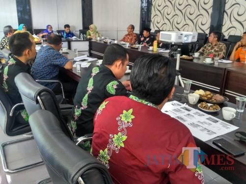 Kunjungan Pemkab Lumajang ke Bondowoso. (Foto muhlis/jatimtimes/kunjungan pemkab lumajang)