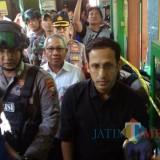 Mendikbud Nadiem Trenyuh Saksikan Puing SDN Gentong Ambruk di Pasuruan