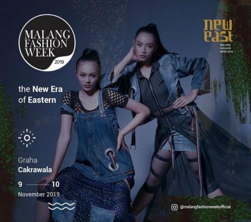 Poster Malang Fashion Week. (Source: instagram @malangfashionweekofficial)