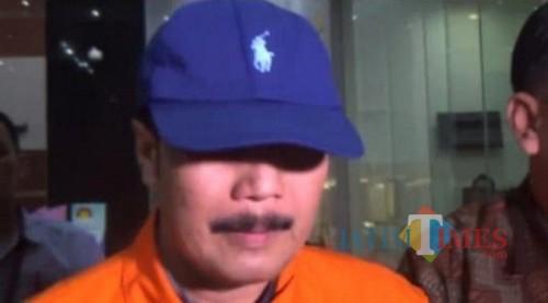 Supriyono saat ditahan KPK / Foto : Istimewa / Tulungagung TIMES