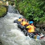 Serunya Sensasi Wisata Pacu Adrenalin River Tubing di Wisuta Tangkil Blitar