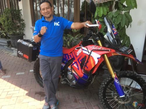 Heri Cahyono saat ditemui wartawan terkait pembahasan periapannya untuk maju mencalonkan diri menjadi Bupati Malang 2020 melalui jalur independen (Foto : Ashaq Lupito / MalangTIMES)