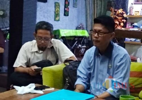Rudy Puryono saat memberikan keterangan pers kepada awak media