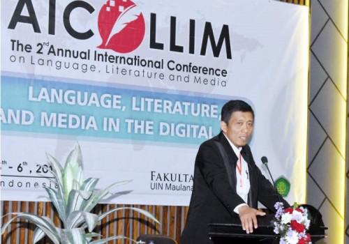 Wakil Rektor Bidang Kerjasama Dan Pengembangan Lembaga UIN Malang, Dr Uril Bahruddin MA. (Foto: Humas)