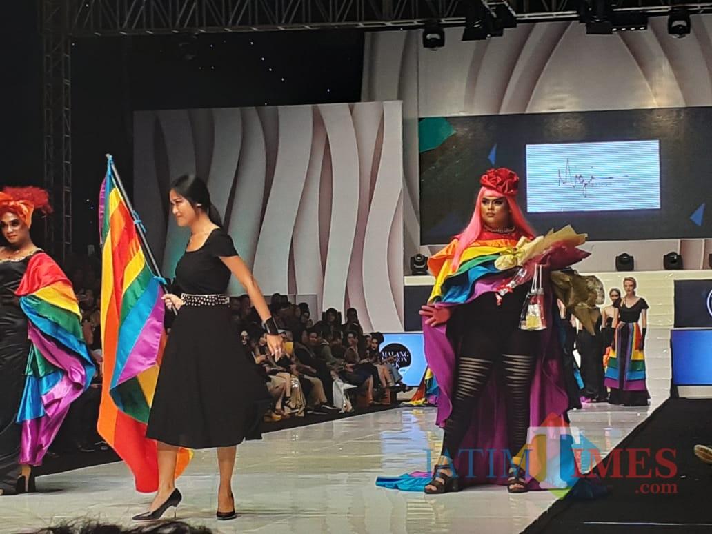 Malam Terakhir Malang Fashion Week Disperin Kota Malang Bupati Malang Spektakuler Malangtimes