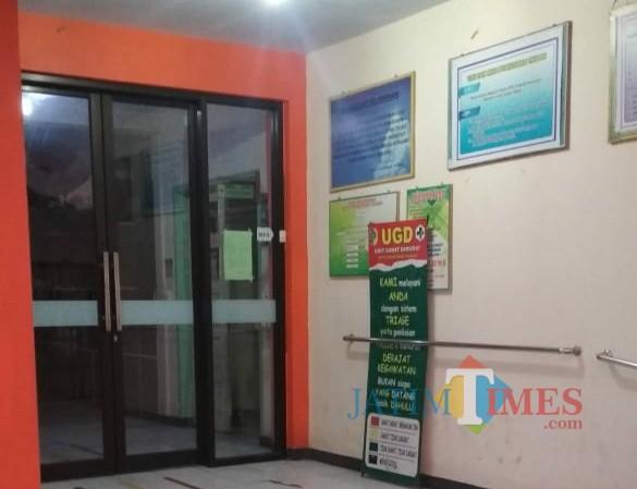 Ruangan UGD Puskesmas Yang Kini Tidak Memberikan Layanan 24 jam / Foto : Istimewa / Tulungagung TIMES