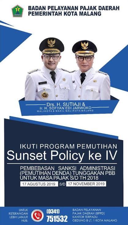 Sunset policy jilid IV (ist)
