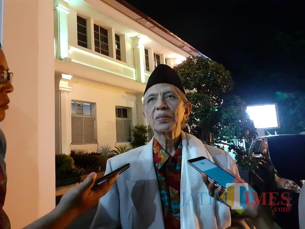 Ketua Majelis Ulama Indonesia (MUI) Kota Malang, KH Baidowi Muslich (Arifina Cahyanti Firdausi/MalangTIMES).