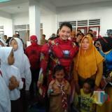 Demi Pulihkan Trauma Siswa SDN Gentong, Wawali Pasuruan Berdandan Super Hero