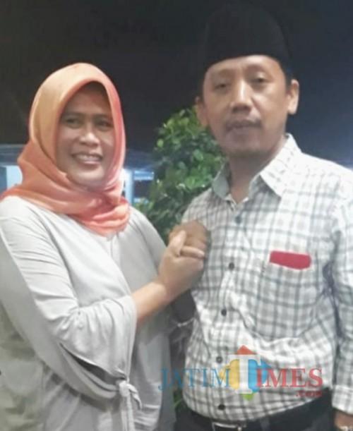 Ratna Ani Lestari (RAL) bersama H Ahmad Fauzi, Ketua SPSI Jawa Timur