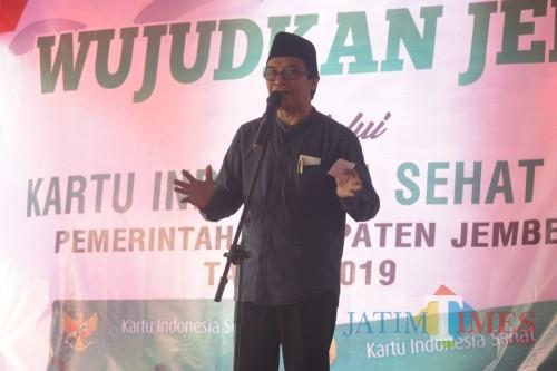 Wakil Bupati Jember Drs. KH. Abdul Muqit Arief (foto : dok / Jatim TIMES)