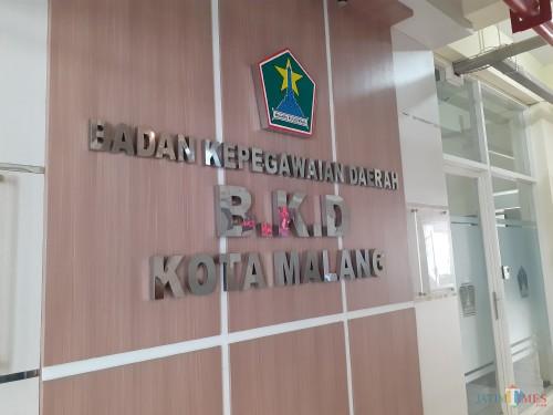 Kantor BKD Kota Malang (Arifina Cahyanti Firdausi/MalangTIMES)