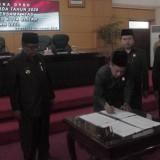 Rapat Paripurna, DPRD Kota Blitar Tetapkan Propomperda dan Raperda APBD 2020