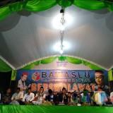 Lewat Selawat, Bawaslu Kabupaten Blitar Ajak Santri Awasi Pemilu
