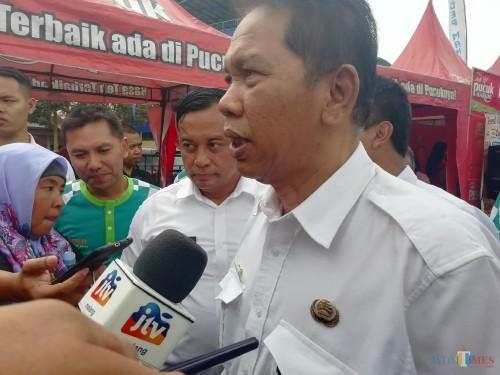 Sekda Kabupaten Malang Didik Budi Muljono berharap komposisi belanja langsung dan tidak langsung berimbang ke depannya (Nana)
