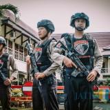 Antisipasi Teror Bom, Polres Lumajang Perketat Penjagaan di Markas Kepolisian