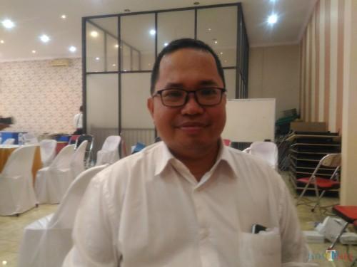 Yusniyar Noermansyah Ketua Gapensi Lumajang periode 2019-2024 (Foto : Moch. R. Abdul Fatah / Jatim TIMES)