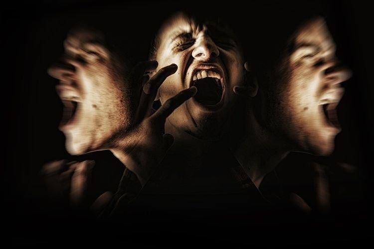 Ilustrasi skizofrenia. (istimewa)