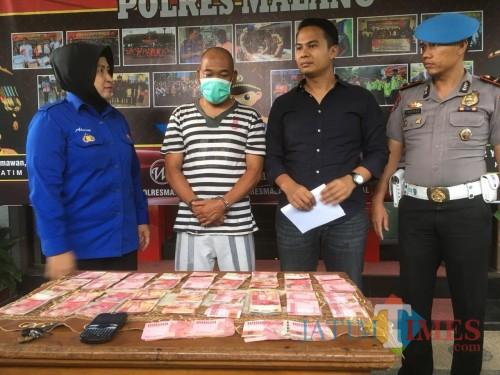 Kades Ngadireso Terjaring OTT, Polres Malang Sita Uang Senilai Rp 20 Juta dari Tangan Tersangka