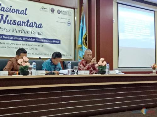 Drs Kusnadi MA, ketua Pusat Pendirian Wilayah Pesisir dan Pulau-Pulau Kecil dari Universitas Jember. (Foto: Imarotul Izzah/MalangTIMES)