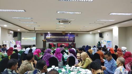 Suasana Pramusrenbang Anak yang digelar Barenlitbang Kota Malang di Hotel Savana, Kamis (14/11/2019) (Pipit Anggraeni/MalangTIMES).