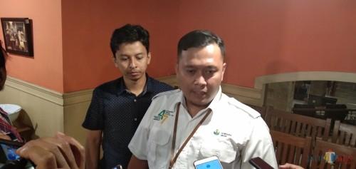 Manajer Humas P.T Petro Kimia Gresik, Muhammad Ihwan (Foto: Joko Pramono/JatimTIMES)