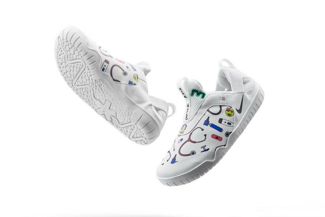 Tampilan Nike Air Zoom Pulse, sepatu khusus untuk tenaga medis (Foto: istimewa)