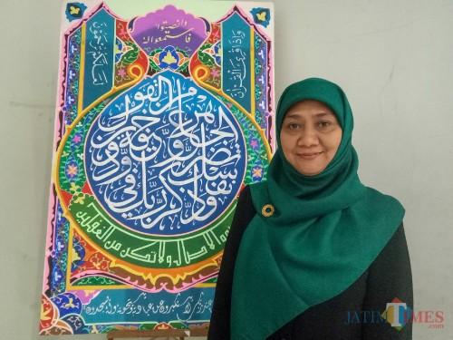 Dekan Fakultas Humaniora UIN Malang, Dr Hj Syafiyah MA. (Foto: Imarotul Izzah/MalangTIMES)