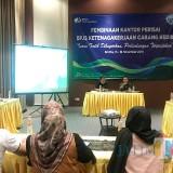 BPJS Ketenagakerjaan Kediri Gelar Monitoring dan Evaluasi Kantor Perisai