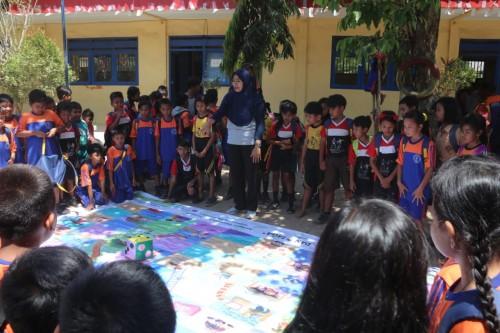 Bersama Unej dan Dinas Pendidikan, PT BSI Gelar Simulasi Penanganan Bencana untuk Anak SD